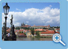 The Prague Castle and The Charles Bridge
